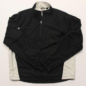 Ping Golf Slip Off Sleeve Windshirt - M - Black
